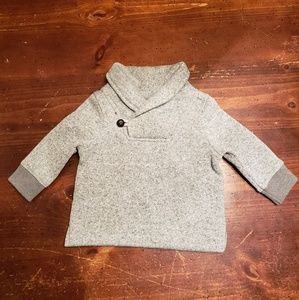 Gray infant boy sweater 6-9Months
